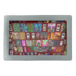 ThumbNAIL Collage -  Artistic Vintage Collection Belt Buckles