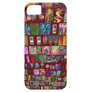ThumbNAIL Collage -  Artistic Vintage Collection iPhone 5 Cases