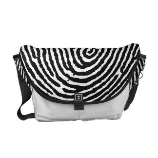 Thumbprint Handmade Messenger Bags