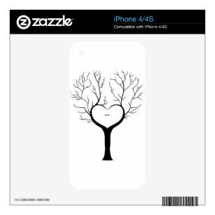 Thumbprint Tree iPhone 4 Skin