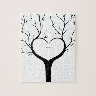 Thumbprint Tree Jigsaw Puzzle