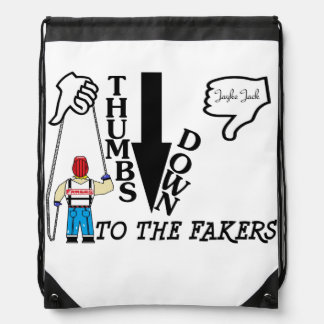 Thumbs Down Backpack