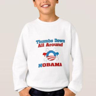 Thumbs Down NObama Sweatshirt