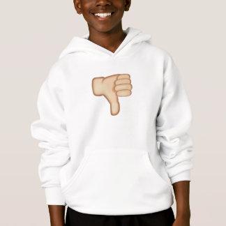 Thumbs Down Sign Emoji Hoodie
