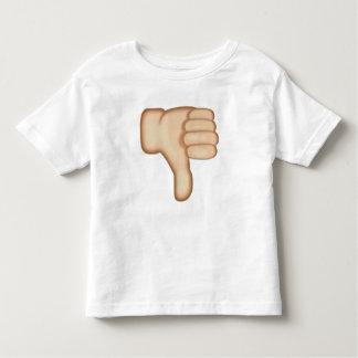 Thumbs Down Sign Emoji Toddler T-shirt