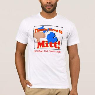 Thumbs DOwn to Mitt T-Shirt