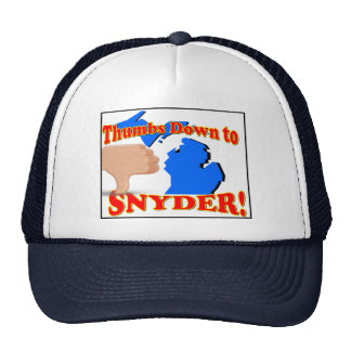 Thumbs Down to Snyder Hat