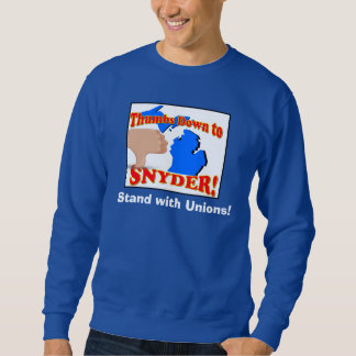 Thumbs Down to Snyder Sweatshirt