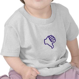 Thumbs down tee shirts