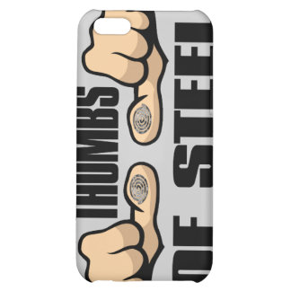 Thumbs of Steel iPhone 5C Covers