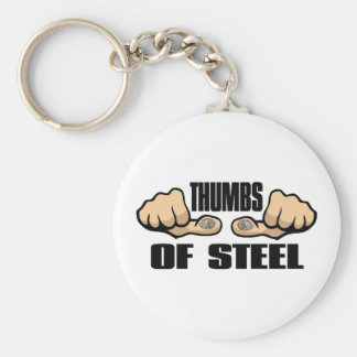 Thumbs of Steel Key Chains