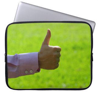 "Thumbs Up 15"" Laptop Sleeve"