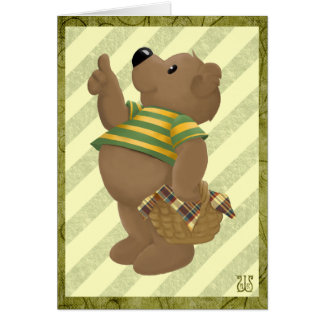 Thumbs up Bear Card