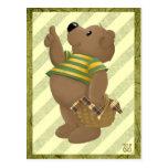 Thumbs up Bear Postcard