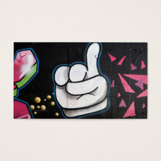 Thumbs up business card