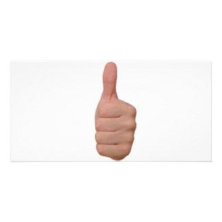 Thumbs up! card