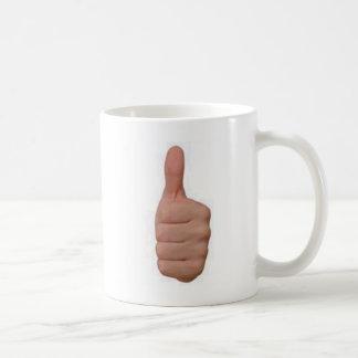 Thumbs up! coffee mug