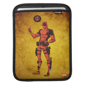 Thumbs Up Deadpool With Emote Sleeve For iPads