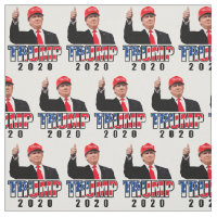 Thumbs Up Donald Trump 2020 Fabric
