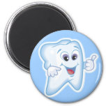 Thumbs up for dental hygiene! refrigerator magnets
