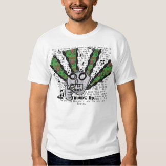 Thumbs up for music t-shirt