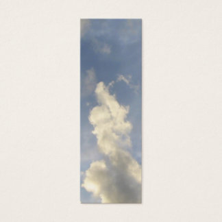 Thumbs-up from the Clouds Bookmark Mini Business Card