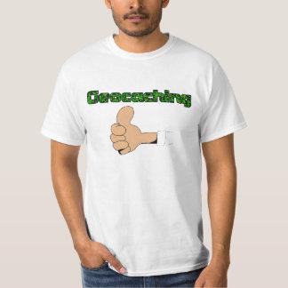 Thumbs up geocaching down LPC's T-Shirt