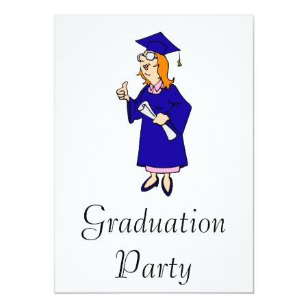 Thumbs Up Graduate Invite