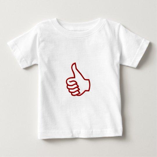 Thumbs Up hand Baby T-Shirt