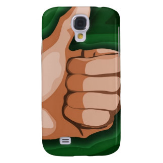 Thumbs up Hand Funny Photo Custom Graphic Design Samsung Galaxy S4 Covers