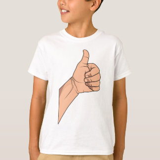 Thumbs Up / Hitchhiking Hand Sign Gesture T-Shirt