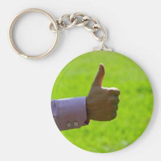 Thumbs Up Keychain
