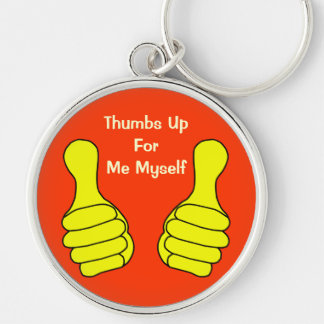 Thumbs Up Keychain Template