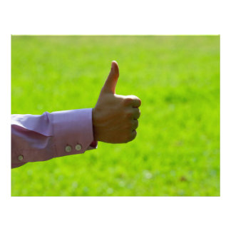 Thumbs Up Letterhead