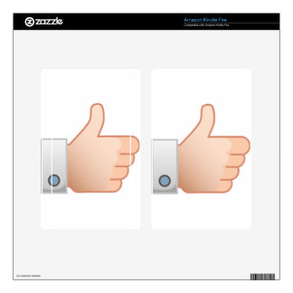 Thumbs Up Like Kindle Fire Skin