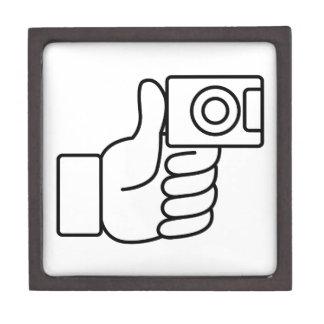 Thumbs Up Like Photo Icon Gift Box