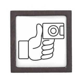 Thumbs Up Like Photo Icon Keepsake Box