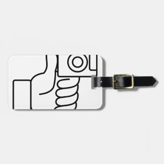Thumbs Up Like Photo Icon Luggage Tag