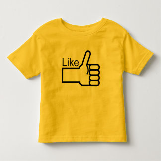 Thumbs Up Like Toddler T-shirt