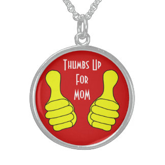Thumbs Up Necklace Template