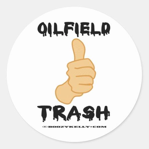 Thumbs Up, Oil Field Trash, Oil Field Sticker