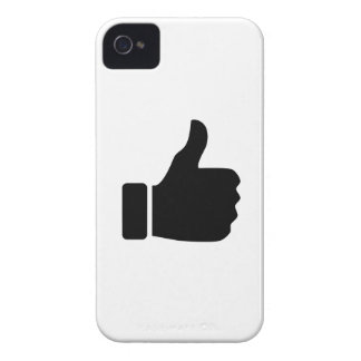 Thumbs Up Pictogram iPhone 4 Case