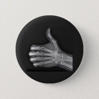 Thumbs up pinback button