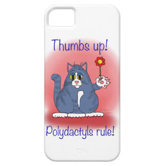Thumbs Up! Polydactyls Rule! iPhone 5 Cases