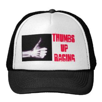 Thumbs Up Racing Trucker Hat