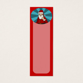 Thumbs Up, Santa -  bookmarks or business cards