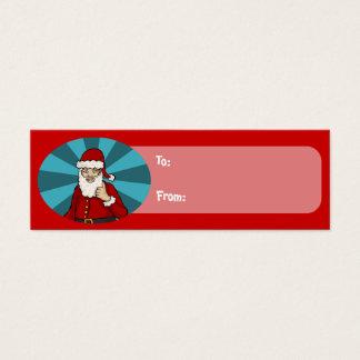 Thumbs Up, Santa - gift tag pack