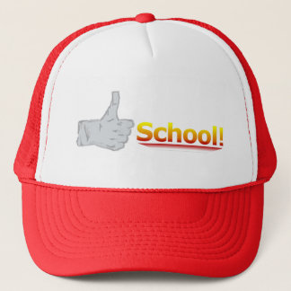 Thumbs Up School. Trucker Hat