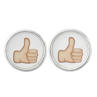 Thumbs Up Sign Emoji Cufflinks