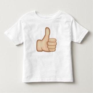Thumbs Up Sign Emoji Toddler T-shirt